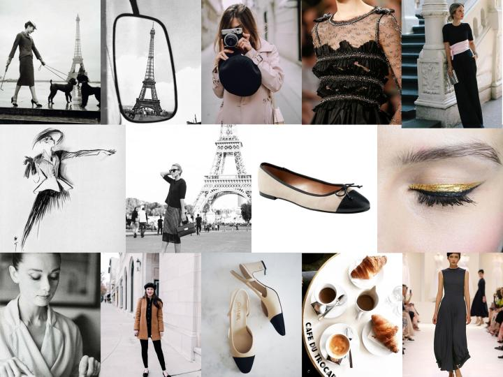A Classic & Parisian Fall Mood Board